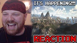 IT'S HAPPENING!!! - ELDER SCROLLS 6 TEASER - KRIMSON KB REACTS
