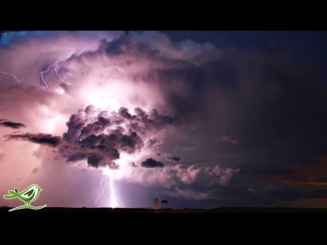 Relaxing Sleep Music with Rain & Thunder Sounds • Ambient Sleeping Music to Fall Asleep to