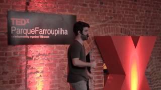 O que te faz pensar diferente: Luciano Braga at TEDxParqueFarroupilha