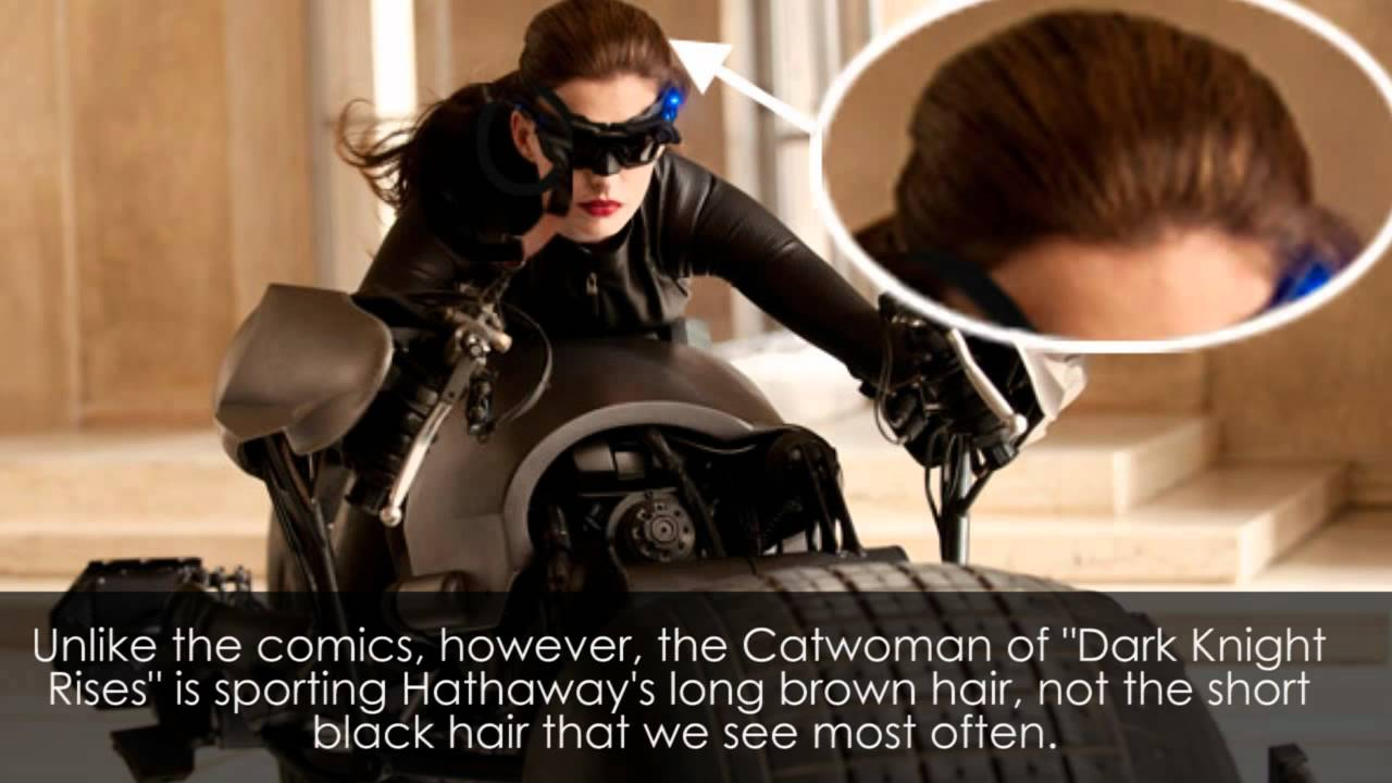 Anne Hathaway S Catwoman Costume Revealed The Dark Knight Rises