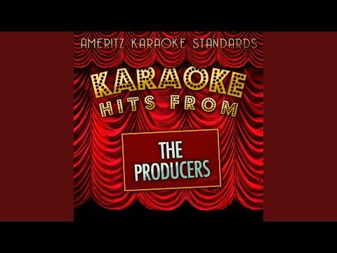 I Wanna Be a Producer (Karaoke Version)