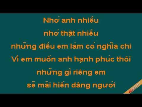 Chuot Yeu Gao Karaoke - Lương Bích Hữu - CaoCuongPro