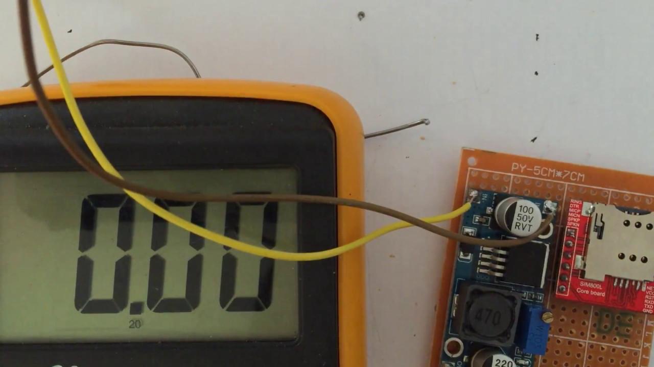 SIM 800l Arduino Tutorial & Solved Quick Blinking Light