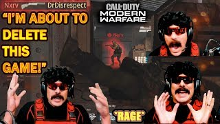 DrDisrespect ALMOST UNINSTALLS COD Modern Warfare After Dealing with Shotty SPAM!