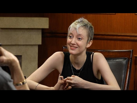 Andrea Riseborough on the allfemale crew behind 'Nancy'  Larry King Now  Ora.TV