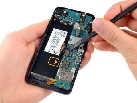 Blackberry Z10 Take Apart And Reassemble Tutorial DIY