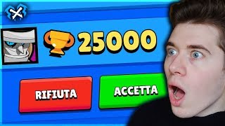 😱 IMPOSSIBILE... 25000 COPPE su BRAWL STARS!