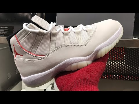 PLATINUM TINT 11s AT THE OUTLET!! HE BOUGHT 12 PAIRS!!