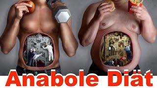 Anabole Diät - Körperfett verlieren nach Plan