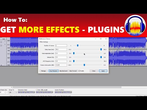 How To: Get More Awesome Effects in Audacity with Plug-Ins