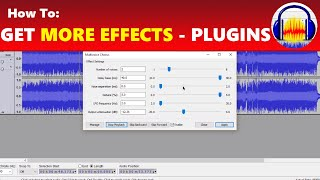 How To Get More Awesome Effects in Audacity with