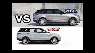 2017 Range Rover Velar VS 2017 Range Rover Sport - Drive - Interior - Exterior