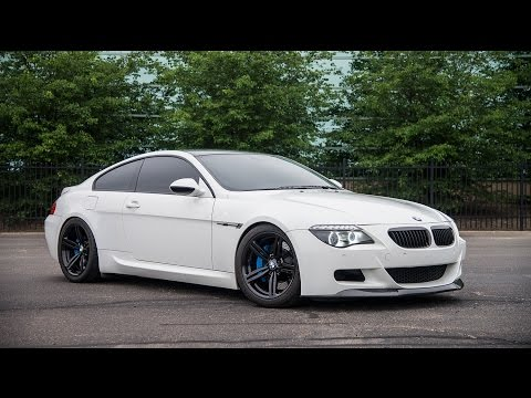Modified V10 BMW M6 with Meisterschaft Exhaust (6-Speed Manual)