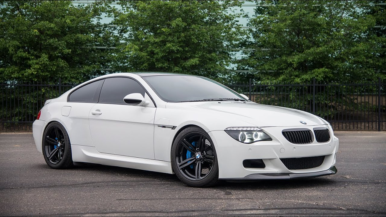 modified v10 bmw m6 with meisterschaft exhaust 6 speed manual youtube. Black Bedroom Furniture Sets. Home Design Ideas