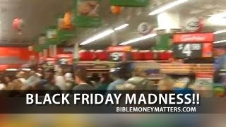 Black Friday Madness At Walmart's Black Friday Sale