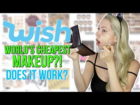 Thumbnail: Full Face Using UNDER $1 Makeup from Wish!