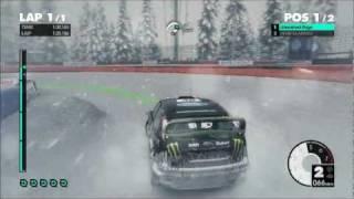 Dirt 3 Snow Gameplay