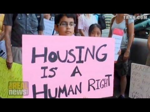 New York Residents on Rent Strike Against Slumlord