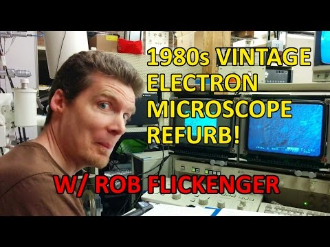 ToorCamp 2016 - Resurrecting a Vintage Scanning Electron Microscope