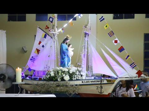 Reveja o quarto dia de Novena dos festejos alusivos a Padroeira dos Marítimos e o parte Social do Centro Juvenil