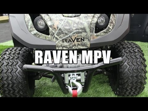 RAVEN MPV-7100 Mower - ATV - Generator - YouTube on
