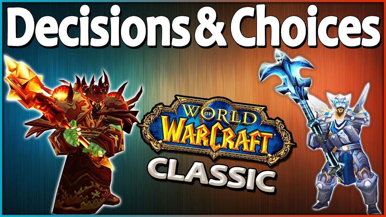 What Class to Pick in Classic Vanilla WoW and More! Community Questions  Answered