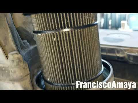 Freightliner cascadia DD15 engine metal debris in oil filter