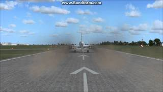 Concorde Belgrade (LYBE)  Take off - Konkord poletanje sa aerodroma Beograd (LYBE)