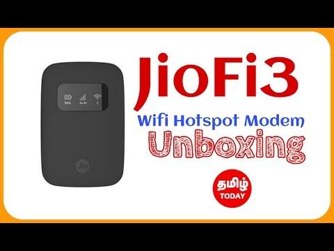 Jiofi3 Wifi Modem Unboxing Comparison with Jiofi2 | Tamil Today Tech Unboxing Series