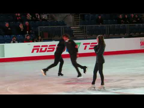 Canadian Skating Championships 2018 Dylan Moscovitch Trennt Michaud #1 Gala Practice