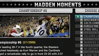 LET'S PLAY MADDEN 10 MADDEN MOMENTS! THE GLITCHES! PART 1