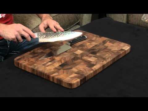 Wusthof Ikon vs.. Shun Premier — Chef's Knife.