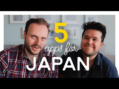 Top 5 Apps for your next Trip to Tokyo / JAPAN TRAVEL