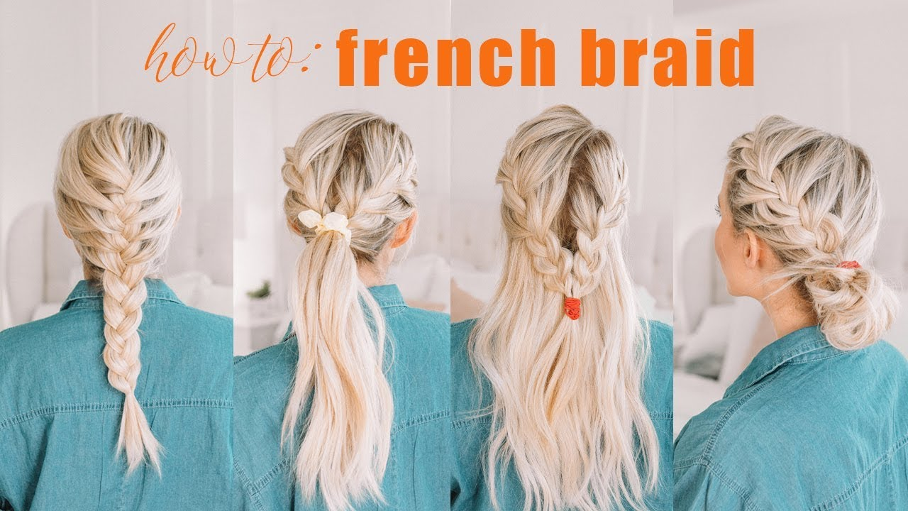 Learn How To French Braid + CHALLENGE BEGINS   Twist Me Pretty