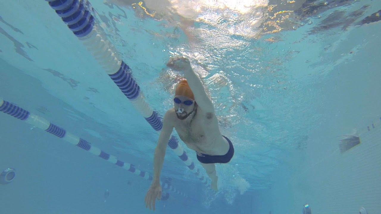 Basics of Lap Swimming Part 1 - YouTube