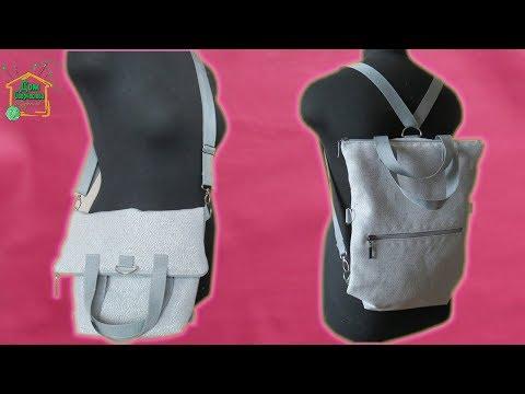 Сумка трансформер рюкзак своими руками выкройки