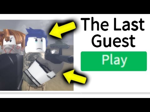 THE LAST GUEST: OFFICIAL ROBLOX GAME!!