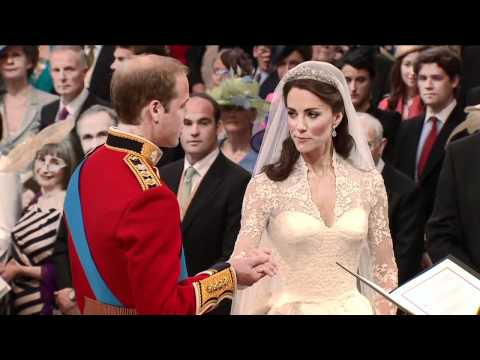 The Royal Wedding of England in April 2011 - Prince William and Catherine Middleton - Vows [HD]
