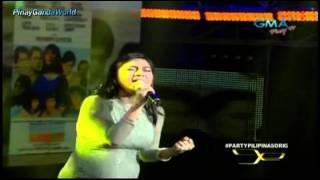 """Party Pilipinas [ORIG] - VOX - KYLA """"Pangarap ng Bituin""""  = 2/24/13"""