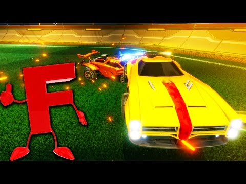 """PRESS """"F"""" TO PAY RESPECTS IN ROCKET LEAGUE"""