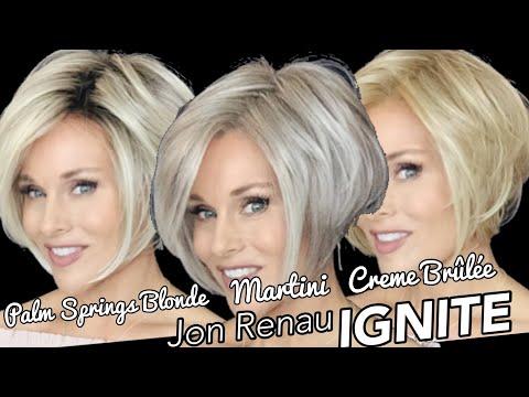Jon Renau IGNITE Wig Review | COMPARE | PALM SPRINGS BLONDE VS MARTINI | 24B22 | Side By Side View