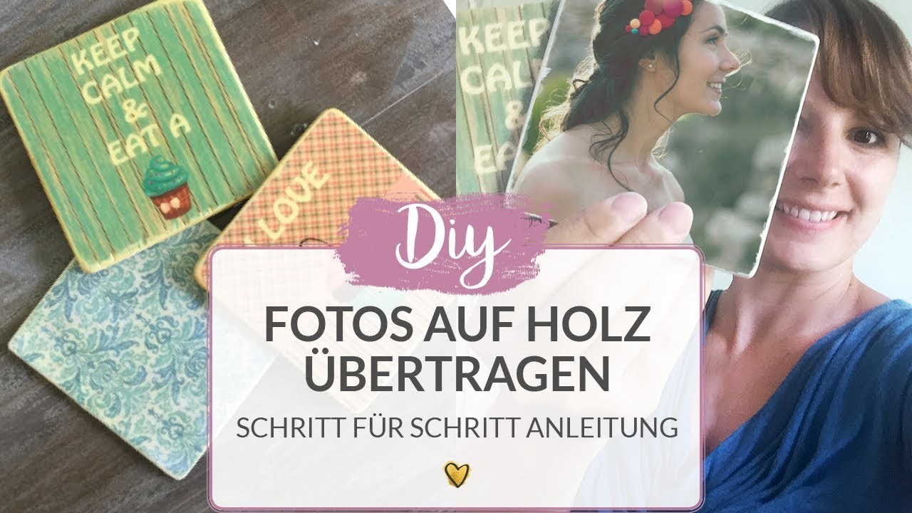 fotos auf holz bertragen diy tutorial anleitung f r fototransfer youtube. Black Bedroom Furniture Sets. Home Design Ideas