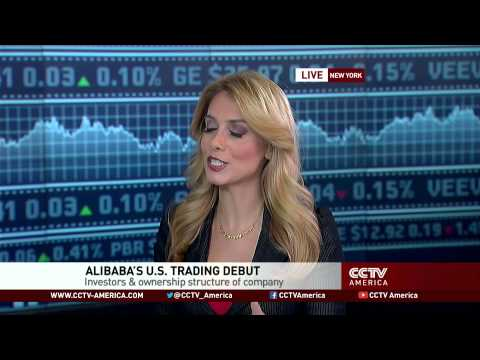 Alibaba stock increases 38% in first day of US trading