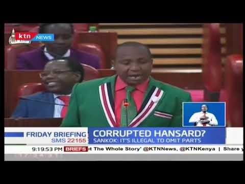 Fears of a corrupted hansard rock Parliament