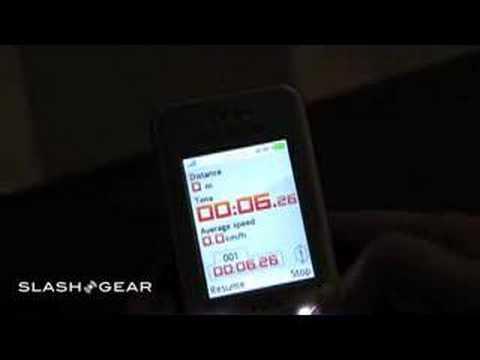 CTIA 2007: Sony Ericsson w580 video walkthrough