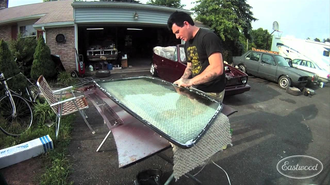 Installing A Press In Windshield Seal And Chrome Installation Wiring Diagram For 1964 Chevrolet Chevy Ii All Models Part 1 Process Eastwood Of 2 Youtube