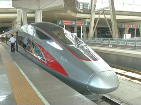 China's New High Speed Train Debuts on Beijing-Shanghai Route