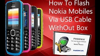How To Flash Nokia Mobiles Via USB Cable Without Box Updated 2017 Urdu/Hindi