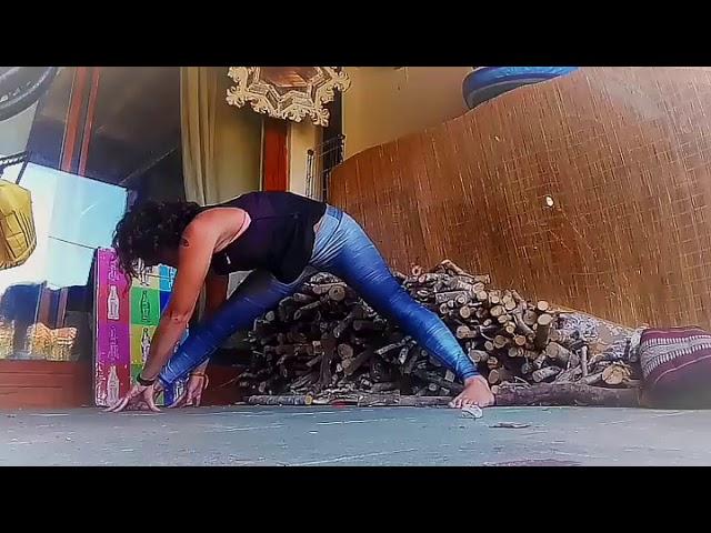 Yoga para la zona lumbar: Descomprime zona lumbar y efecto Detox con este ejercicio 👊