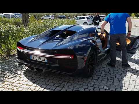 Bugatti Chiron - Portugal - Engine Start